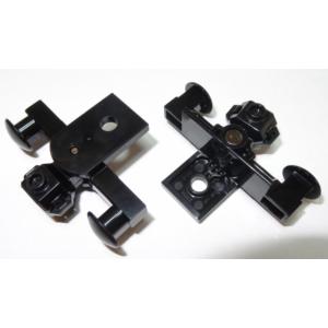 trein buffer met magneet black