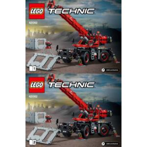 bouw beschrijving voor set 42082