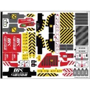 stickers voor set 42082