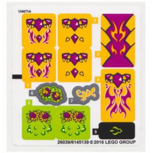 stickers voor set 41175
