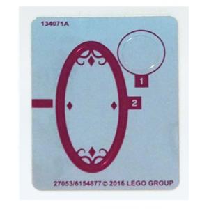 stickers voor set 41180