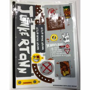 stickers voor set 75977
