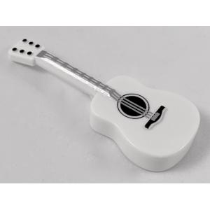 akoestische gitaar white